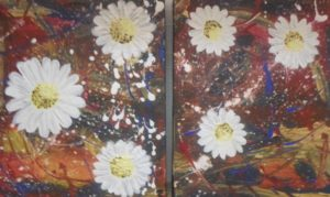 Pair of daisy chains by Pamela