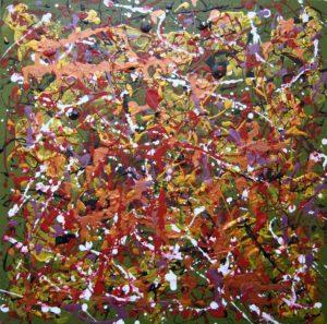 Copper maze by Pamela