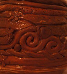 Coil pot by Pamela