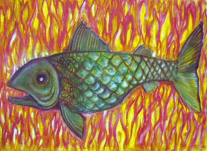 Fish in a Sea of Fire by Billy Weston