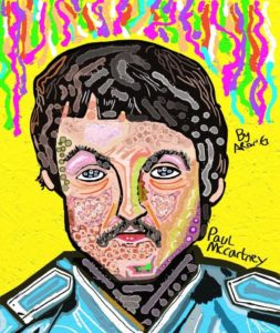 Paul McCartney Sgt. Peppers lonely hearts club band by Azzaartist