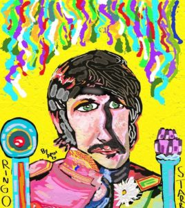 Ringo Starr Sgt. Peppers lonely hearts club band by Azzaartist