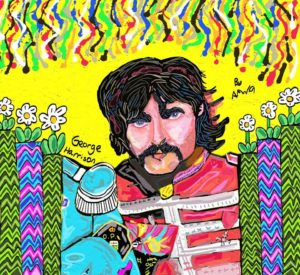 George Harrison Sgt. Peppers lonely hearts club band by Azzaartist