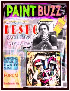 PaintBuzz ZINE by Despo Davis