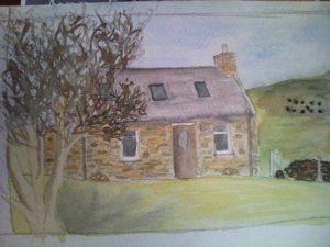 Croft on Skye by Nicola Foley