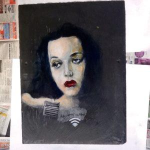 Hedy Lamar by Jill Green