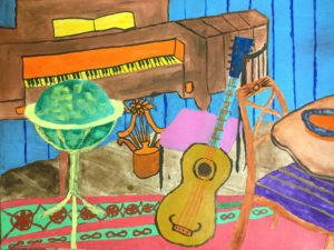 The Music Room at The American Museum by Anna Newman