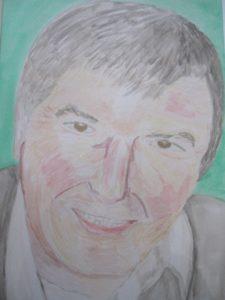 Portrait of Michael O'Sullivan by Joy Turner