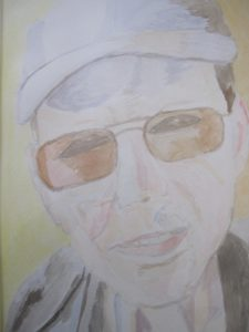 Portrait of Mark Wood by Joy Turner