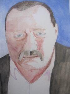 Portrait of Peter Sherwood by Joy Turner