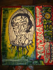 André Breton by Laurentiu Z