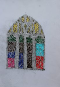 Stained Glass Chichester Cathedral by Phil Moore