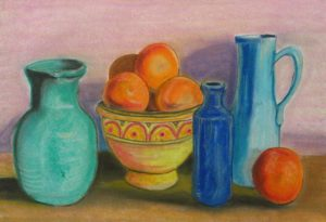Study of Still Life 4 by Adrian Mitchell