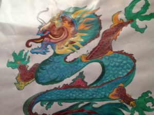 chinese dragon by Becky Taylor