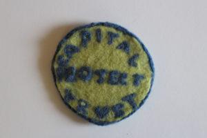 Capital Badge by Tim Bird