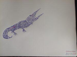 Cosmic Croc by anil
