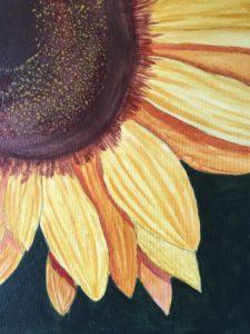 Sunflower by Lenny Jordan Blinding Art