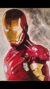 Ironman by Lenny Jordan Blinding Art