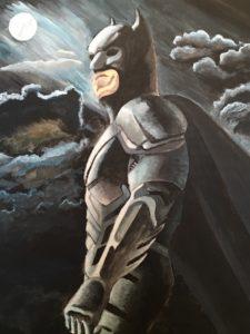 The Dark Knight by Lenny Jordan Blinding Art