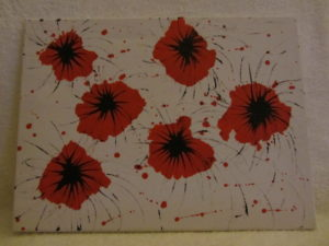 Poppies by J. Holmes