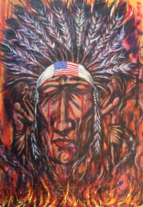 Desecration of an Indian Nation by Andrew Saggers