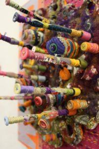 Cylinder Head (detail) by Norma Benham