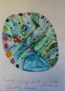 Peacock by Shirley Hart