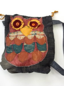 owl bag by Vicky Francis
