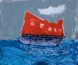 At sea by Kate