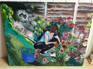 Garden Work by Michael Spencer