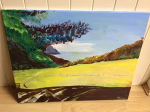 View towards Lee Bay by Michael Spencer