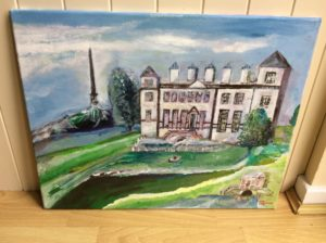 Hagley Hall and surrounds by Michael Spencer