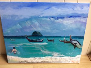 Swimming in Thai Seas by Michael Spencer