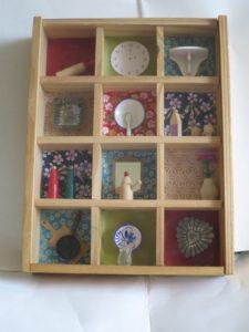 dolls kitchen by Romilly Jardine