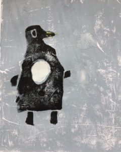 Happy Penguin by Kate