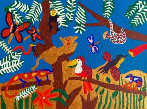 Typical African Jungle by Amy's Postures IV