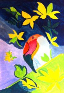 Exotic Bird by Ian Bradford
