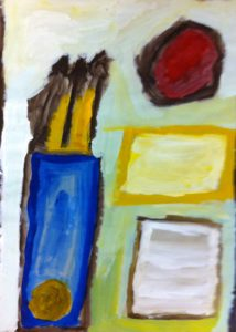 Abstract Still Life 1 by Ronnie Mitchell