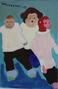 Monkeys United by Hilary Forrester