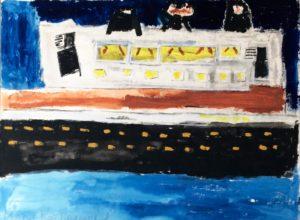 Ferry boat by Mark Nottingham