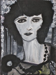 My Portrait vision of Diane Arbus by Claudia Innocenta