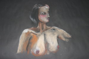 nude study 3 by Lucy