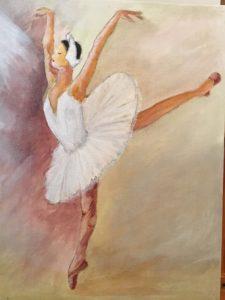 Swan Lake by Lenny Jordan Blinding Art