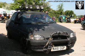 Rat Black Car by Antony Cullup
