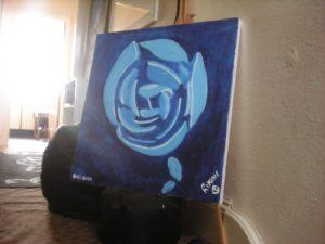 Blue Rose by RIKINI