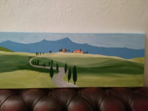 Italy landscape by Susannah Donnelly