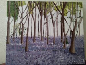 Blue bell forest by Susannah Donnelly