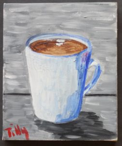 My cup is always half full by Tilly Tomkinson