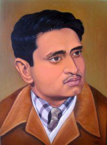 portrait by Roshan Pradhan