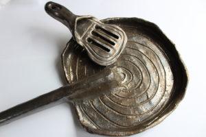 Spatula and Frying Pan by Cameron Morgan